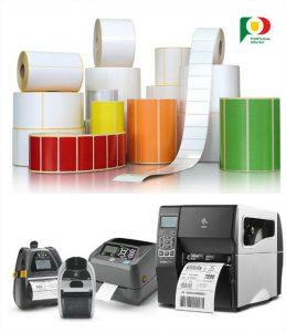 Etiquetas Autocolantes e Impressoras